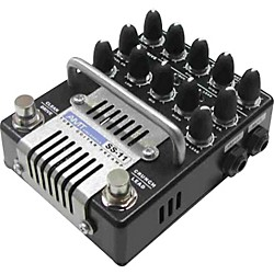 AMT Electronics SS-11 3-Channel Dual Tube Guitar Preamp (SS-11B)