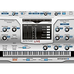ANTARES Auto-Tune Live (VST/ AU/ RTAS) Software Download (1015-25)