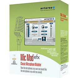 ANTARES Mic Mod EFX Classic Microphone Modeler with Free Choir registration code (41001P)