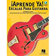 Music Sales APRENDE YA! - A TOCAR ESCALAS PARA GUITARRA BOOK/CD
