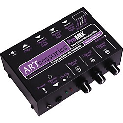 ART ProMIX 3-Channel Microphone Mixer (PROMIX)