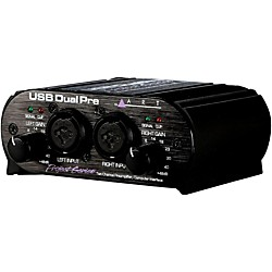 ART USB Dual Pre Two-Channel Preamp Restock (USBDUALPRE Refurb)