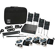 Galaxy Audio AS-1800 Any Spot Wireless Personal Monitor Band Pack w/EB6 earbuds