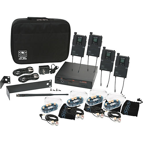 Galaxy Audio AS-1800 Any Spot Wireless Personal Monitor Band Pack w/EB6 earbuds Freq. Code B3