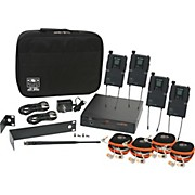 Galaxy Audio AS-1810 Any Spot Wireless Personal Monitor Band Pack w/EB10 earbuds