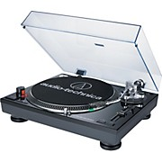 Audio-Technica AT-LP120BK-USB Direct-Drive Professional Record Player (USB & Analog) - Black