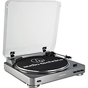 Audio-Technica AT-LP60-USB Fully Automatic Belt-Drive Stereo Record Player (USB & Analog)