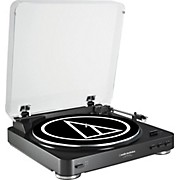 Audio-Technica AT-LP60BK-USB Fully Automatic Belt-Drive Stereo Record Player (USB & Analog)