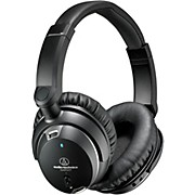 Audio-Technica ATH-ANC9 Noise Cancelling Over Ear Headphones With Controls