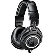 Audio-Technica ATH-M50x Closed-Back Professional Studio Monitor Headphones