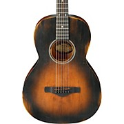 Ibanez AVN6 Artwood Vintage Distressed Parlor Acoustic Guitar