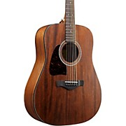 Ibanez AW54LOPN Left-Handed Mahogany Dreadnought Acoustic Guitar