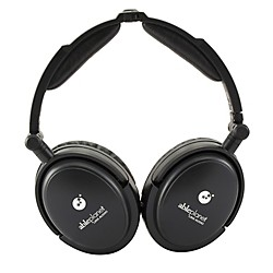 Able Planet True Fidelity NC180B Around the Ear Foldable Noise Canceling Headphones (NC180B)