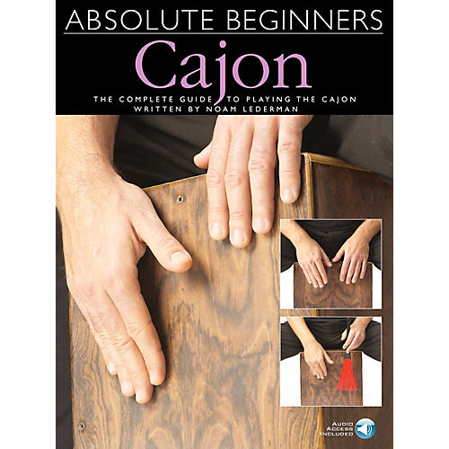 Music Sales Absolute Beginners Cajon Book/CD-thumbnail