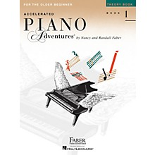 Faber Piano Adventures Accelerated Piano Adventures for the Older Beginner - Theory Bk 1, International Edition Faber Piano