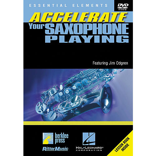 Berklee Press Accellerate Your Saxophone Playing (DVD)-thumbnail