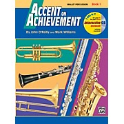 Alfred Accent on Achievement Book 1 Mallet Percussion Book & CD