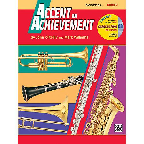 Alfred Accent on Achievement Book 2 Baritone B.C. Book & CD