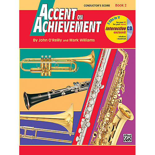 Alfred Accent on Achievement Book 2 Conductor's Score-thumbnail