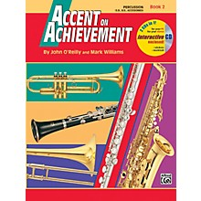 Alfred Accent on Achievement Book 2 PercussionSnare Drum Bass Drum & Accessories Book & CD