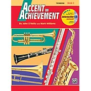 Alfred Accent on Achievement Book 2 Trombone Book & CD
