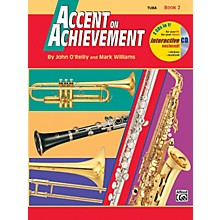 Alfred Accent on Achievement Book 2 Tuba Book & CD
