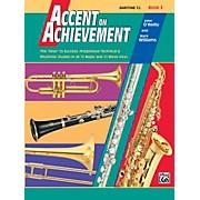 Alfred Accent on Achievement Book 3 Baritone T.C.