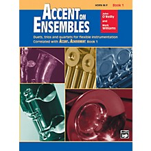 Alfred Accent on Ensembles Book 1 Horn in F