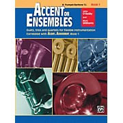 Alfred Accent on Ensembles Book 1 Trumpet Baritone T.C.