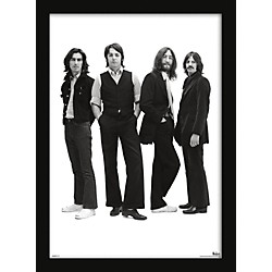 Ace Framing Beatles - Group With Long Hair 24x36 Poster (PAS9906F)