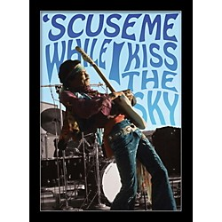 Ace Framing Jimi Hendrix - Kiss The Sky 24x36 Poster (PAS0397F)