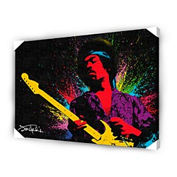 Ace Framing Jimi Hendrix Paint Framed Artwork (CVA00002)