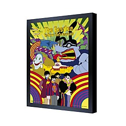 Ace Framing The Beatles Yellow Submarine 3D Framed Poster (PPLA70087F)