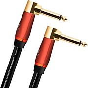 """Monster Cable Acoustic 1/4"""" Dual AngledInstrument Cable"""