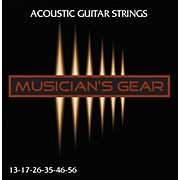 Musician's Gear Acoustic 13 80/20 Bronze Guitar Strings