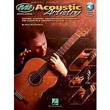 Musicians Institute Acoustic Artistry Musicians Institute Press Series Softcover Audio Online Written by Evan Hirschelman