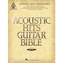 Hal Leonard Acoustic Hits Guitar Bible Guitar Tab Songbook
