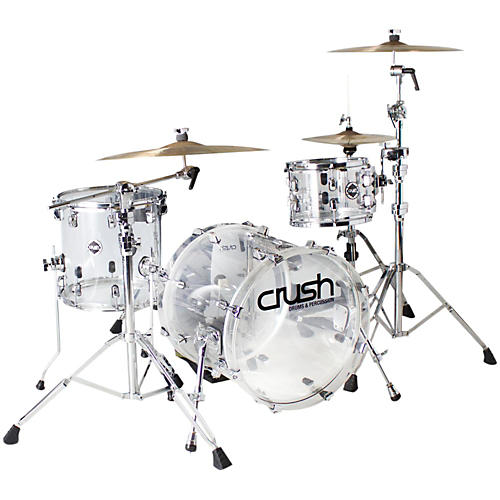 Crush Drums & Percussion Acrylic 3-Piece Bop Shell Pack-thumbnail