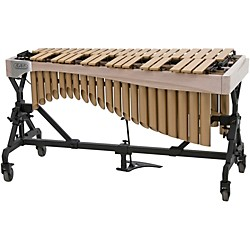 Adams Alpha Series 3.0 Octave Vibraphone, Gold Bars Motor Traveler Frame White Wash Rails (VAGT30M/9W3)