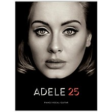 Hal Leonard Adele - 25 For Piano/Vocal/Guitar