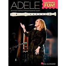 Hal Leonard Adele - Recorder Fun! Songbook
