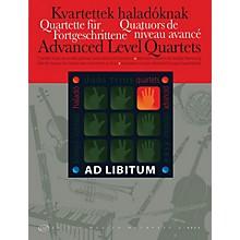 Editio Musica Budapest Advanced Level Quartets EMB Series by Various