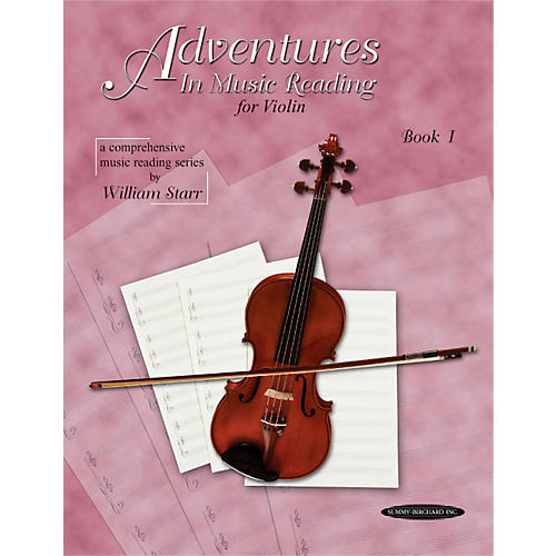 Alfred Adventures in Music Reading for Violin Book I-thumbnail