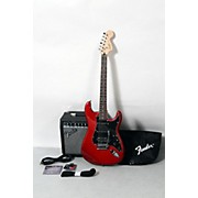 Squier Affinity Series HSS Stratocaster Electric Guitar Pack with 15G Amplifier