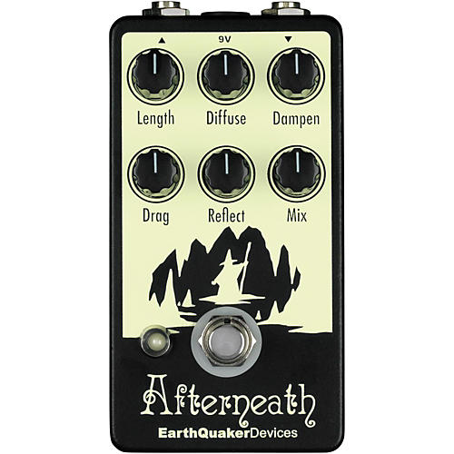 EarthQuaker Devices Afterneath Reverb Guitar Effects Pedal-thumbnail