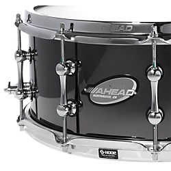 Ahead Black Chrome Bell Brass Snare Drum (AS614BBB)