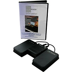 AirTurn Bluetooth BT-105 for Mac, PC, and iPad (MR-BT105-ATFS2X2-PB-Pro)