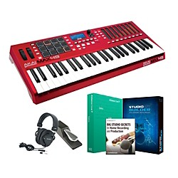 Akai Professional MAX49 Keyboard Controller Package 1 (AKAIMAX49KCP1)