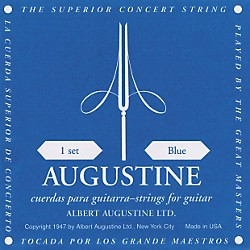Albert Augustine Blue Label Classical Guitar Strings (AUGBLU)