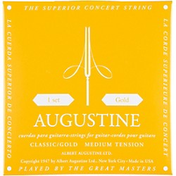 Albert Augustine Gold Label Classical Guitar Strings (AUGO)